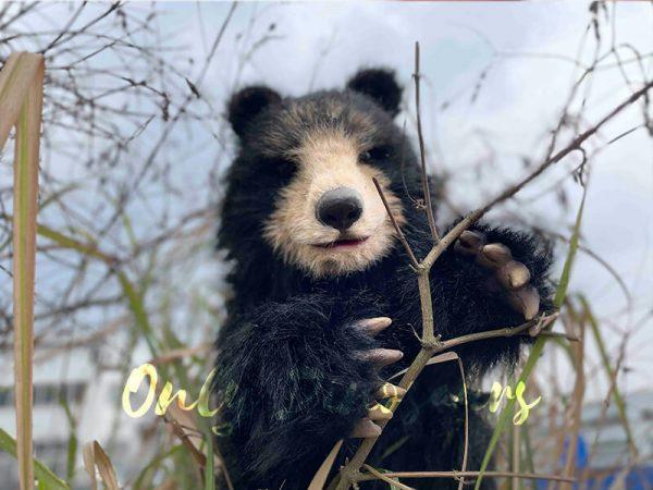 Adorable-Handheld-Baby-Black-Bear-Puppet3