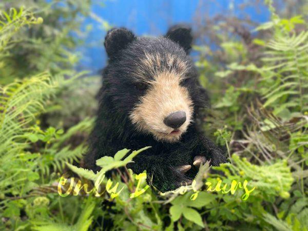 Adorable-Handheld-Baby-Black-Bear-Puppet4