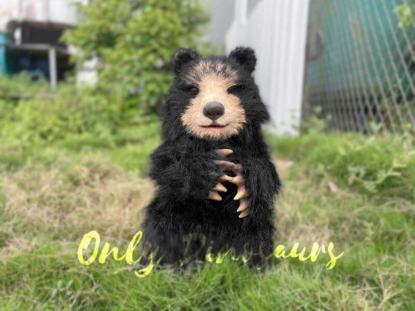 Adorable-Handheld-Baby-Black-Bear-Puppet6