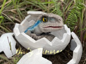 Animatronic Raptor Egg Hatching Puppet