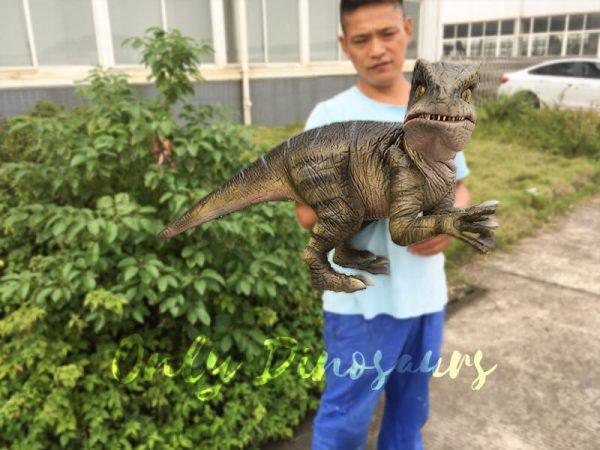 Attractive-Realistic-Baby-Velociraptor-Hand-Puppet1