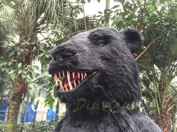 Black-Animatronic-Bear-with-Sharp-Teeth-5