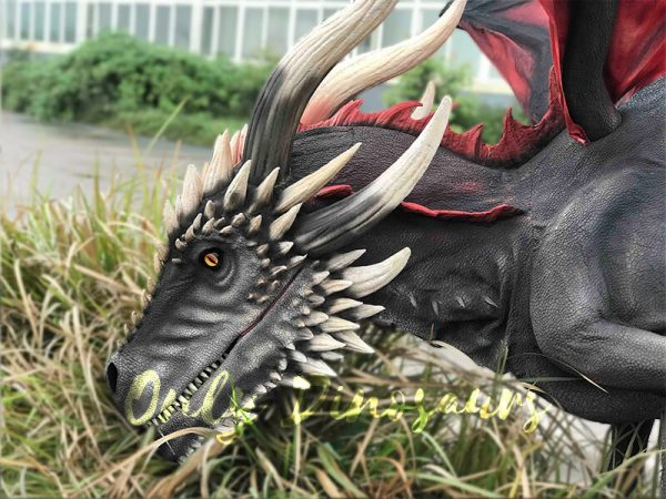 Coolest-Black-Flying-Dragon-with-Hidden-Legs2