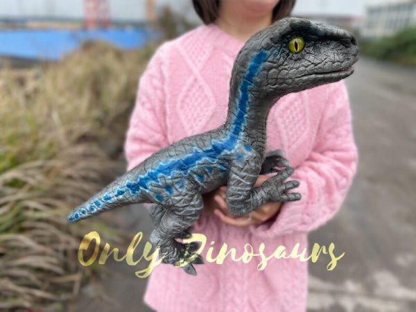 Cute-Mini-Baby-Velociraptor-Cub-with-Gray-Blue-Color1