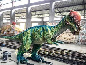 Electric Juvenile Stygimoloch for Dinosaur Show