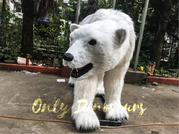 Engaging-Animatronic-Animal-Polar-Bear-for-Exhibition3