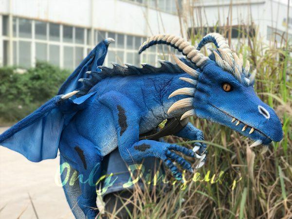 Eye-catching-Blue-Shoulder-Flying-Dragon-Puppet1