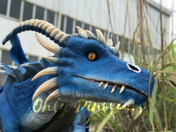Eye-catching-Blue-Shoulder-Flying-Dragon-Puppet2