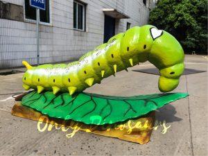 Giant Lifelike Animatronic Oleander Hornworm