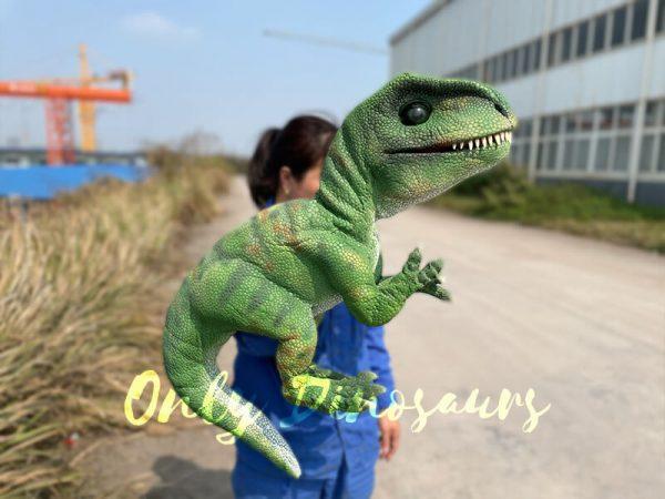 Green-Adorable-Baby-Tyrannosaurus-Rex-Hand-Puppet1