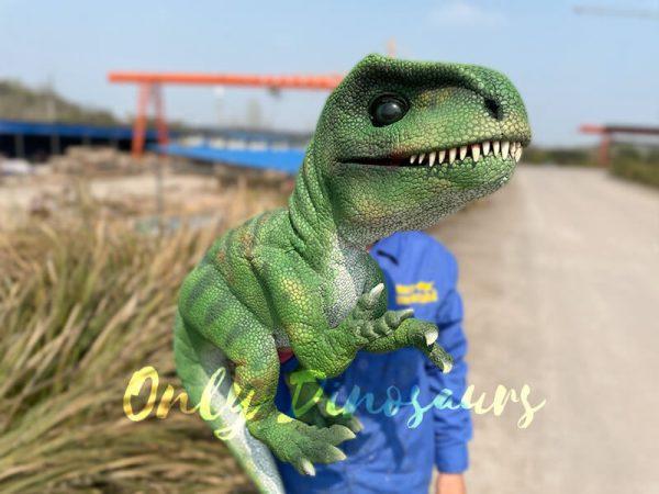 Green-Adorable-Baby-Tyrannosaurus-Rex-Hand-Puppet2