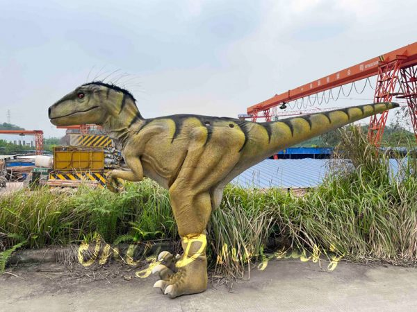 Hidden-Legs-Velociraptor-Suit-for-Dinosaur-Event2
