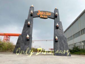 Jurassic Park Gate for Dinosaur Party Decoration