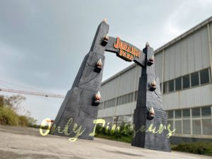 Jurassic Park Gate for Dinosaur Party Decoration
