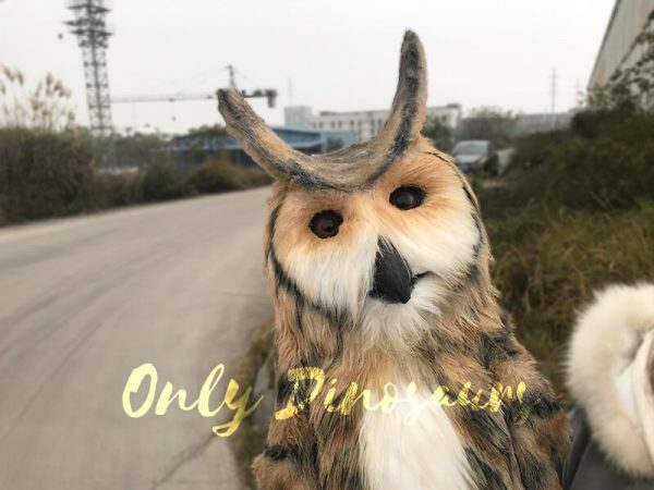 Lifelike-Plush-Owl-Hand-Puppet4
