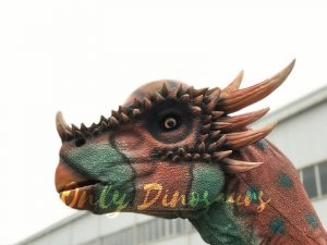 Lifesize Spotted Stygimoloch Dinosaur Costume For Sale