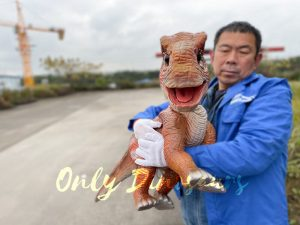 Mind-blowing Baby Brachiosaurus Puppet