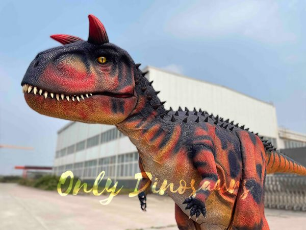 Realistic-Carnotaurus-Costume-with-Red-Black-Color2