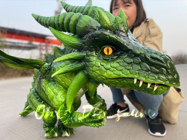 Realistic-Flying-Green-Baby-Dragon-Puppet5