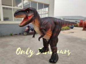 Realistic Invisible Leg T-Rex Dinosaur Costume