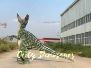 Realistic Velociraptor Hidden Legs Dinosaur  Costume