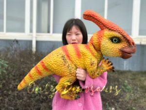 Stunning Parasaurolophus Dinosaur Arm Puppet