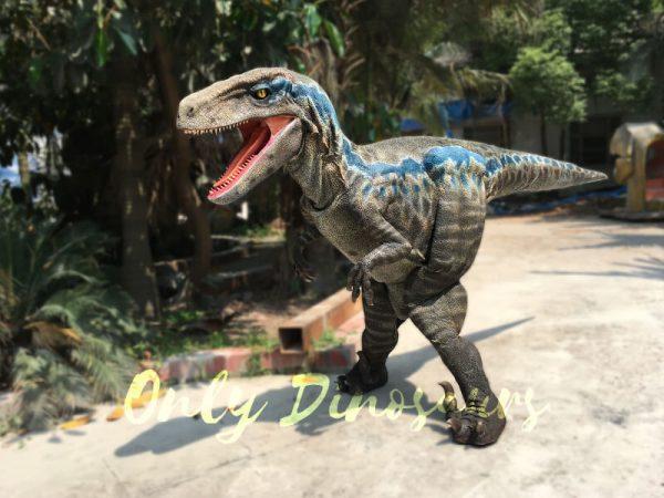 Super-Realistic-Single-man-Velociraptor-Costume-with-Hidden-Legs5