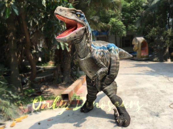 Super-Realistic-Single-man-Velociraptor-Costume-with-Hidden-Legs6