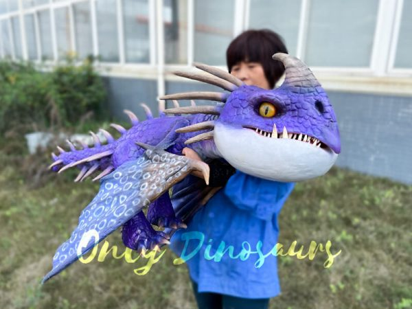 Charming-Purple-Baby-Nadder-with-Barbed-Tail2