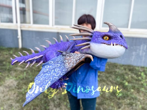 Charming-Purple-Baby-Nadder-with-Barbed-Tail3