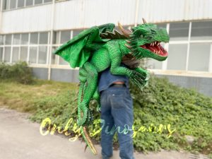 Cool Juvenile Flying Dragon Puppet for Event