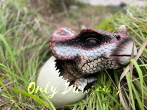 Cuddly  Protoceratops Hatching Egg Puppet