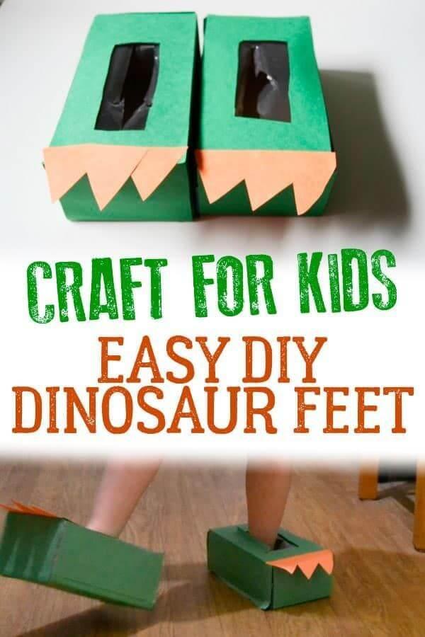 Easy-DIY-Dinosaur-Feet
