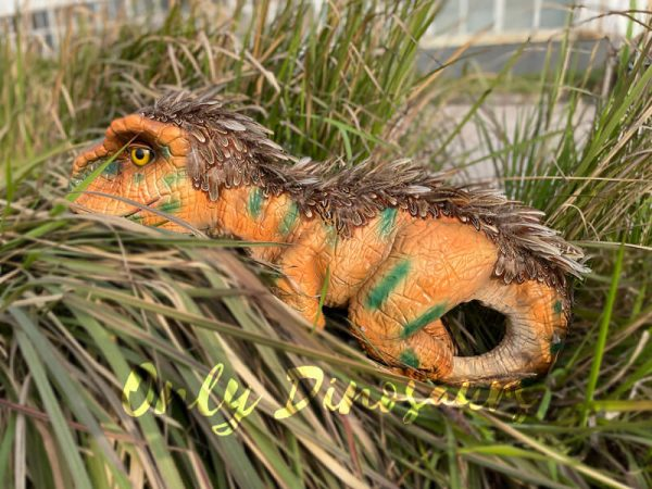 Feathered-Baby-T-Rex-Dino-Puppet-for-Sale6