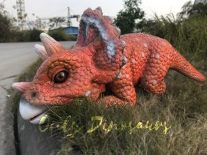 Intelligent Baby Triceratops Dinosaur Puppet