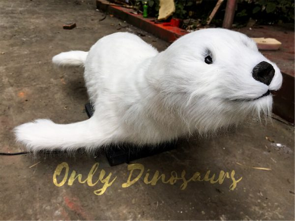 Realistic-Cute-Animatronic-Animal-Snow-Seal-for-Show2