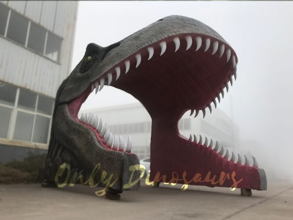 Realistic-Dino-T-Rex-Head-Gate-Entrance-for-Park3