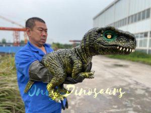Stunning T-Rex Dinosaur Hand Puppet