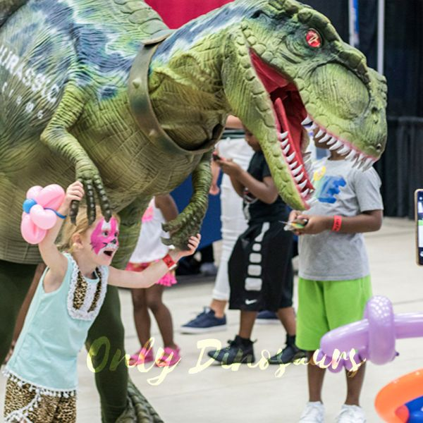 The-Best-12-Party-Characters-for-Kids-in-2021-Dinosaur-Realistic-Costume-of-Green-T-rex
