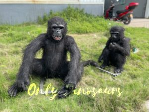 Vivid Animatronic Monkey Animal Models for Exhibition