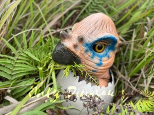 Wondrous Pachycephalosaurus Hatching Dinosaur Egg Puppet