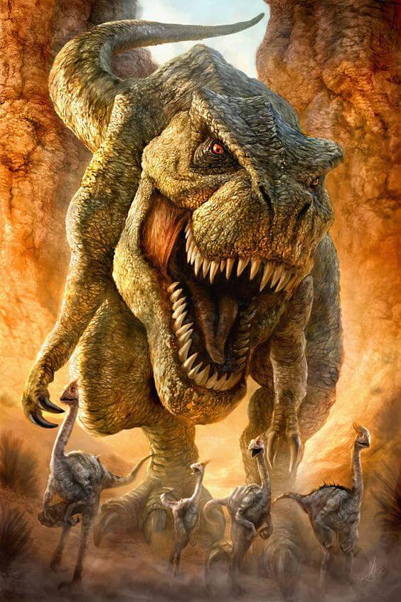 t-rex-open-mouth-yellow-bg