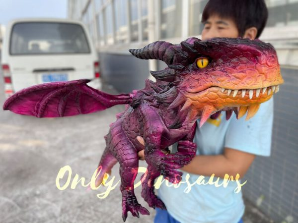 Adorable-Baby-Dragon-Hand-Puppet-for-Cosplay-Party4