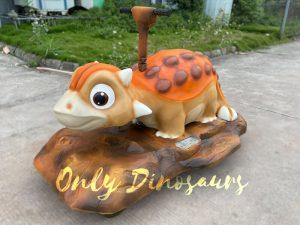Adorable Electronic Ankylosaur Dino Ride