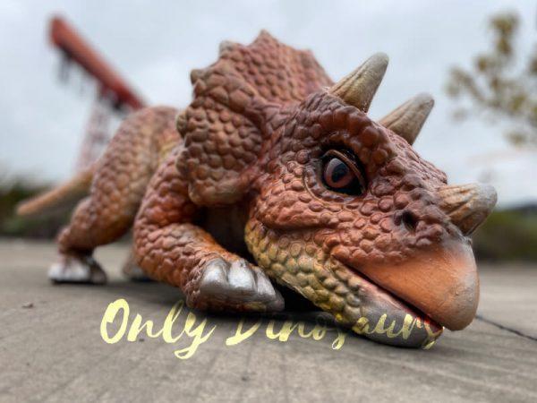 Lifelike-Dino-Triceratops-False-Arm-Puppet2