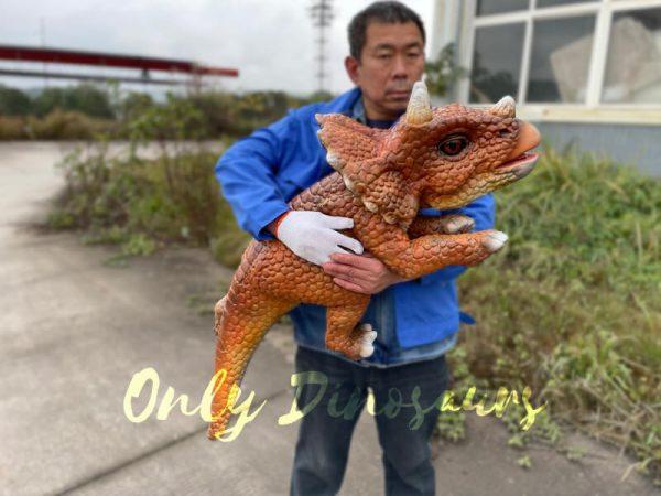 Lifelike-Dino-Triceratops-False-Arm-Puppet4