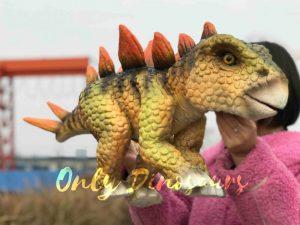 Stegosaurus Dinosaur Puppet Toy for Sale