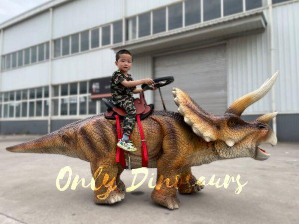 Wonderful-Walking-Dinosaur-Triceratops-Kids-Ride1