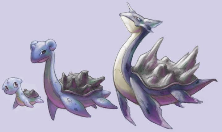 An-Imaginary-Picture-of-Lapras-Evolutionary-Chain
