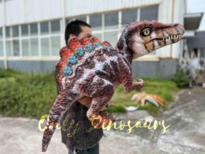Colorful Spinosaurus Hand Puppet for Sale